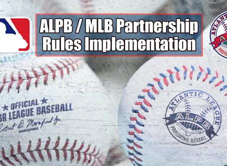 MLB, ALPB REVEAL RULE CHANGES