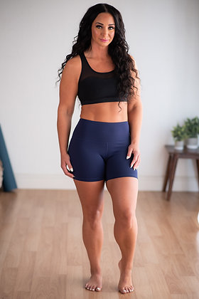 "Hey Shorty Flex High Waist 5"" - Midnight Sky Flex FINAL SALE"