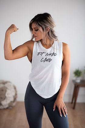 Fit Girls Club - White Tank