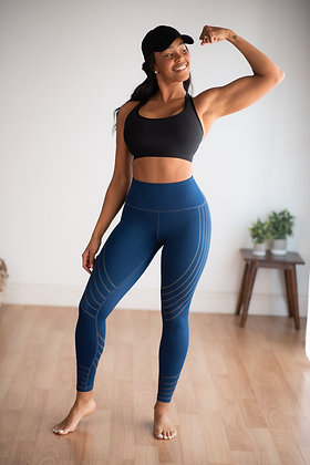 Fit and Lit -Navy