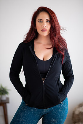 Love Me - Onyx Athletic Jacket