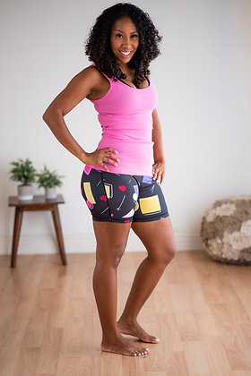 """Hey Shorty High Waist 5"""" - Saved by the Kettle Bell XFit"""