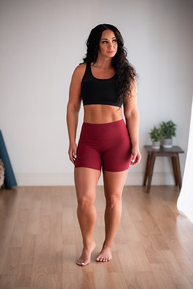 "Hey Shorty Flex High Waist 5"" - Rouge Flex FINAL SALE"