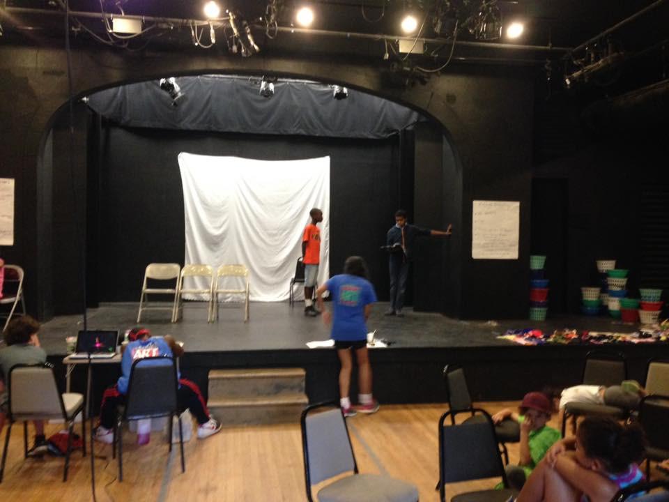 Matilda rehearsal