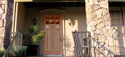 Custom Finished Front Door