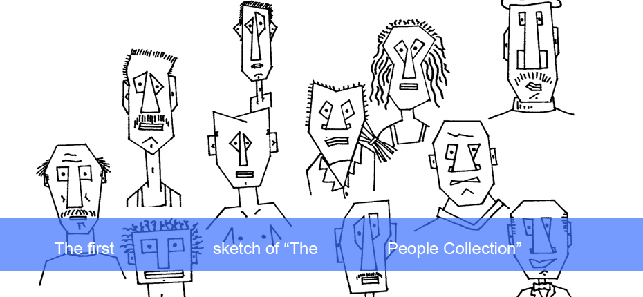 CARTOONS THE PEOPLE COLLECTION