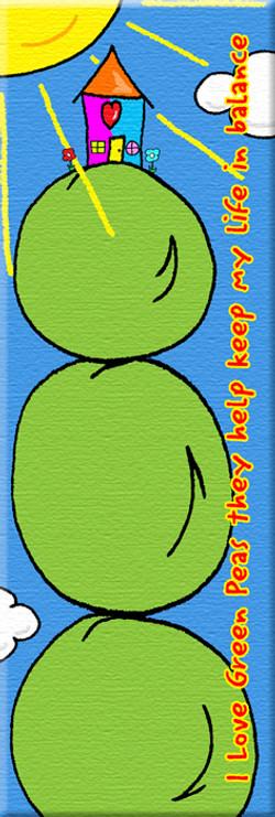 I Love Green Peas