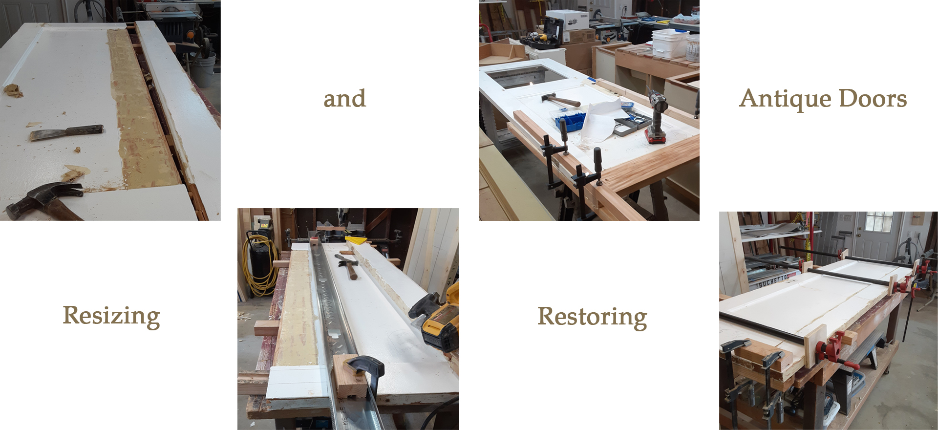 Resizing Antique Doors