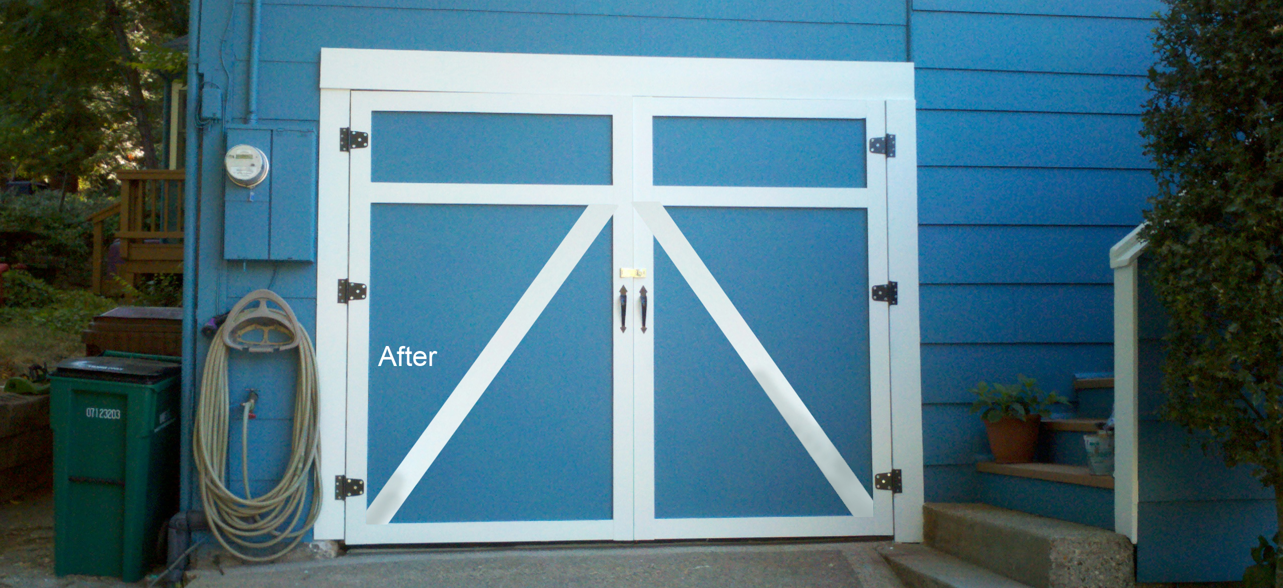 Custom Garage Doors Completed