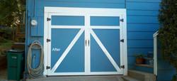 Custom Garage Doors Completed