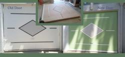 Custom Garage Door Rebuild