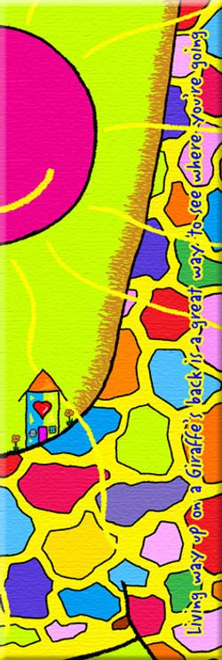 Living on the back of a Giraffe