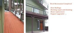 Deck Restoration Completed