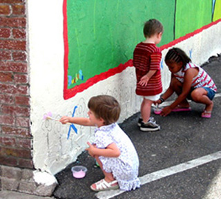 Young Mural Artist
