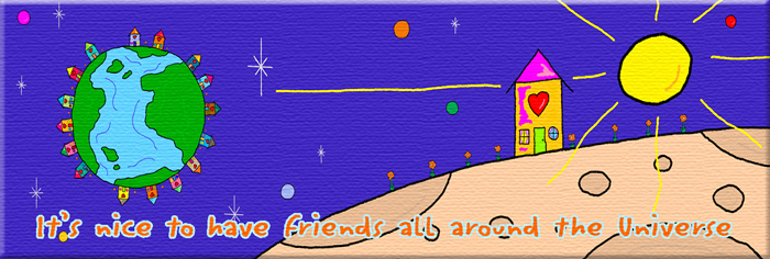 """Friends around the Universe"""