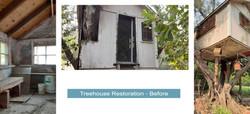 Treehouse Restoration - Before