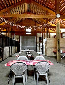 Interior Barn and Stables