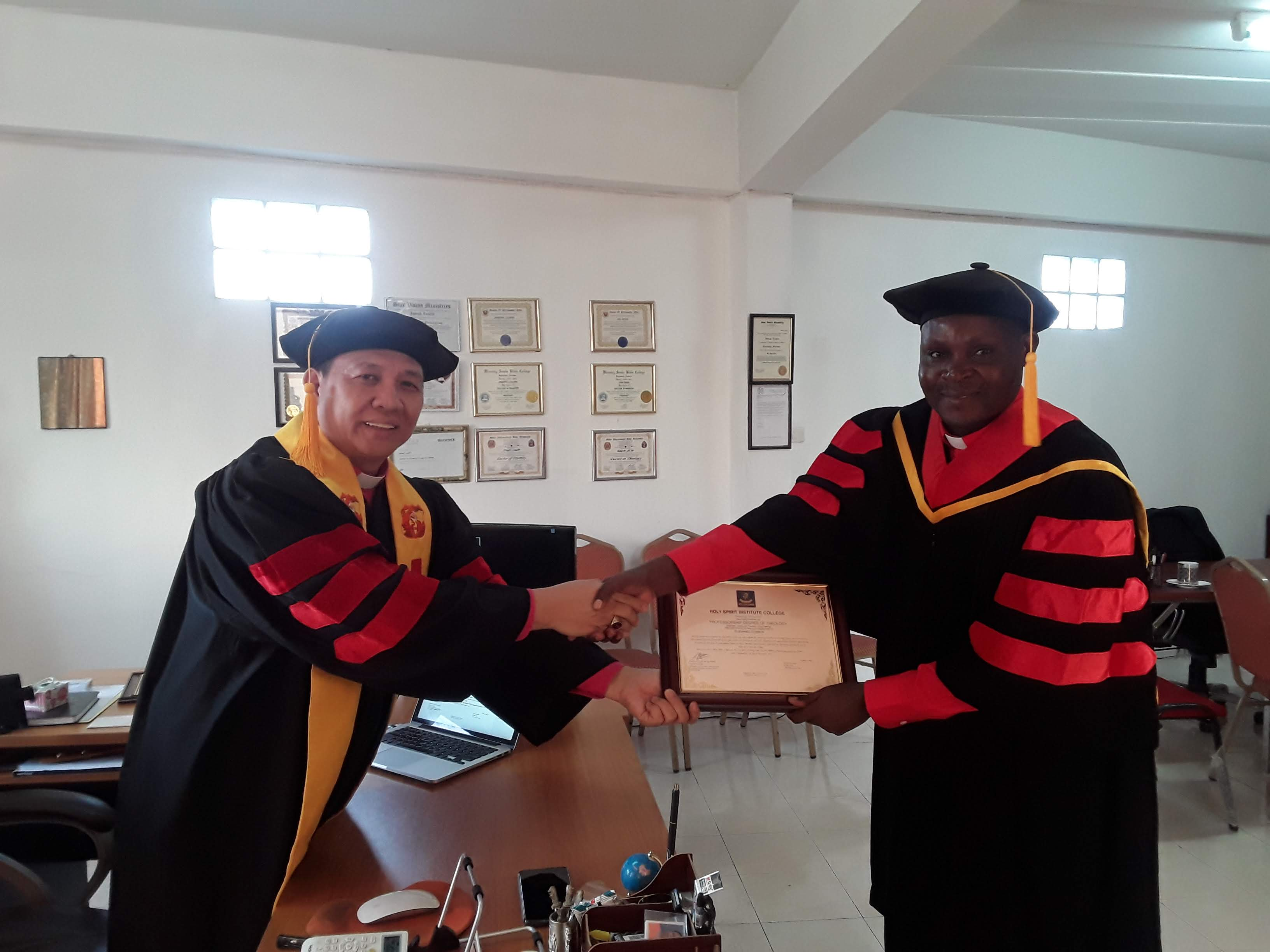 Profesorship Degree 2019