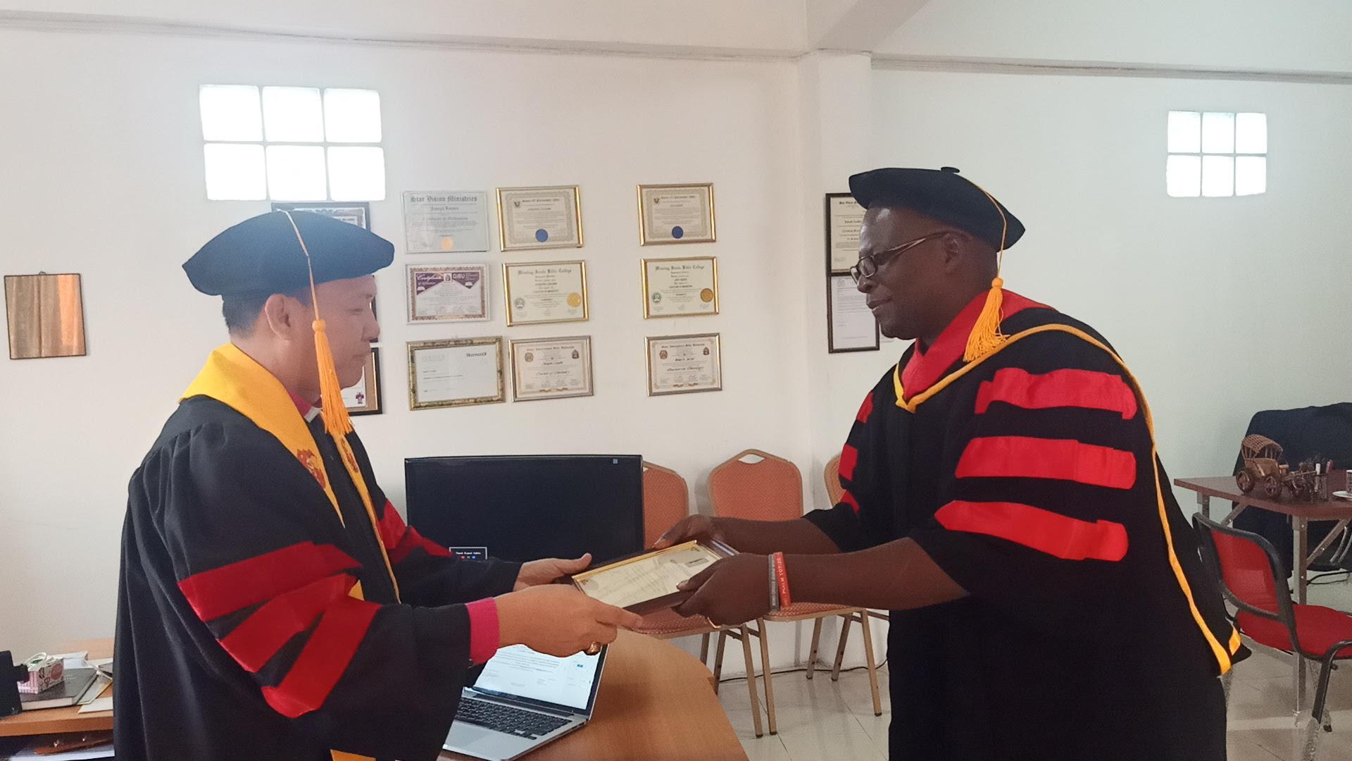 Doctorate recipient
