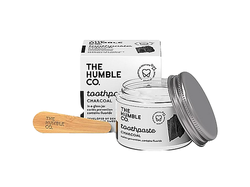 The Humble co. - Tandpasta - houtskool met fluor