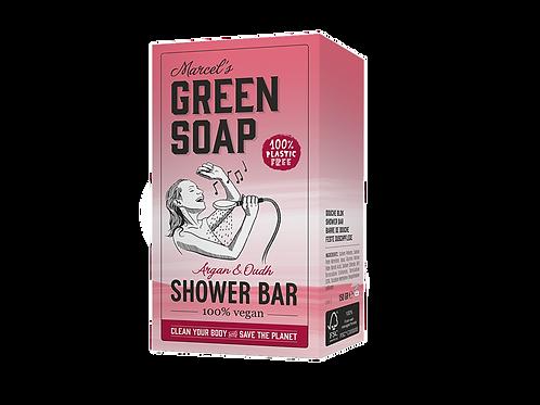 Marcel´s Green Soap - Shower bar / handzeep - Argan & Oudh