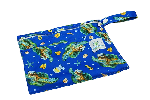 Blümchen wetbag - Schildpad XS