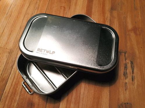 Retulp - lunchbox - RVS