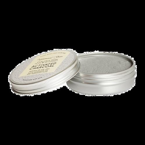 HelemaalShea - Klei gezichts masker - Actieve kool - Detox & Antioxidant