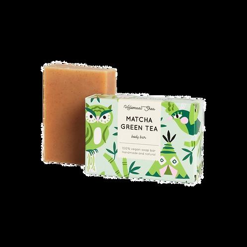 HelemaalShea - Matcha groene thee lichaamszeep
