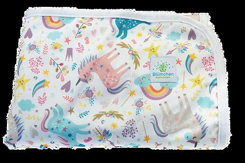 Blümchen verschoningsmatje - Unicorns