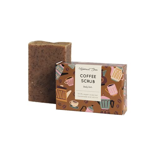 HelemaalShea - Koffie scrubzeep