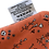 Thumbnail: Jut & Julie - Wasbare Boterhamzakje - Bloemetjes Oranje