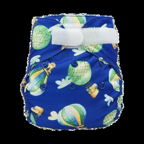 Blümchen cover Newborn - Luchtballon