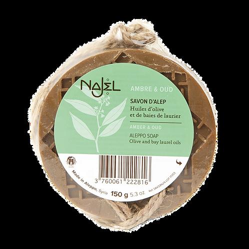 Najel - Zeep aan koord - Amber en Oud Aroma
