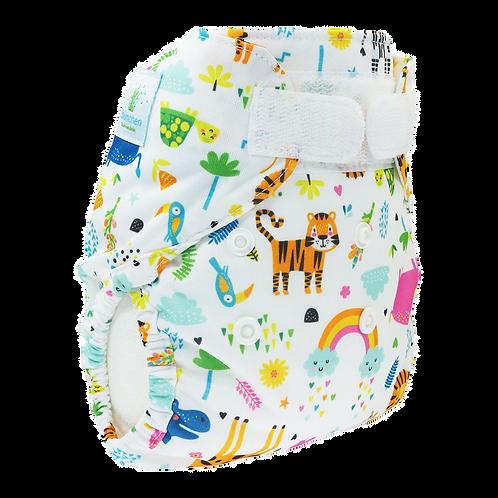 Blümchen cover Newborn - SlimFit - Zoo