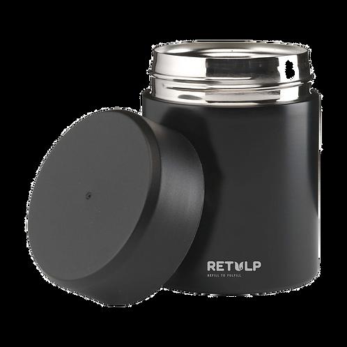 Retulp - Food Container Thermos - Zwart