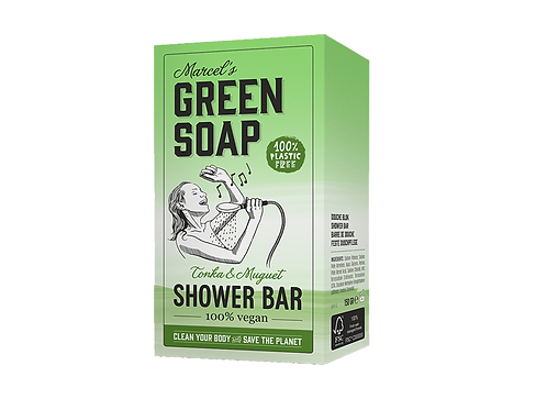 Marcel´s Green Soap - Shower bar / handzeep- Tonka & Muguet