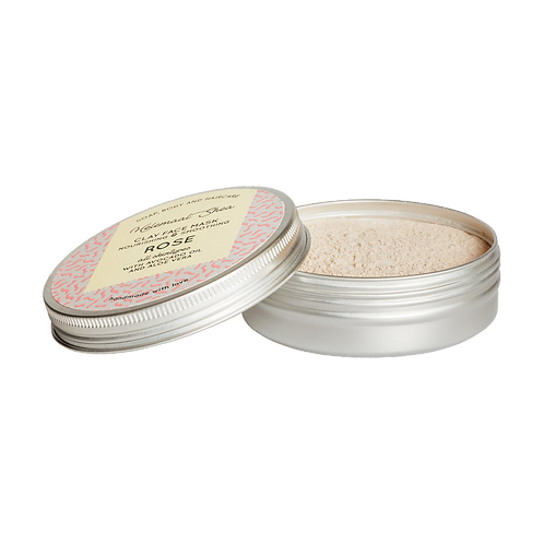 HelemaalShea - Klei gezichtsmasker - Roos - Nourishing & Smoothing