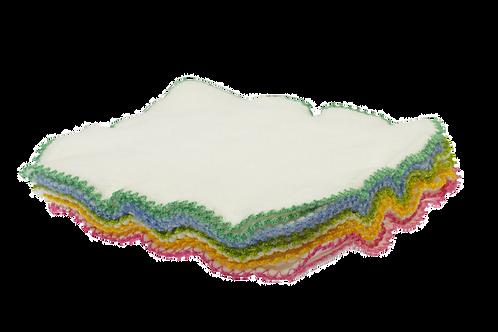 Blümchen wasbare doekjes - Gekleurd