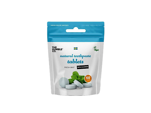 The Humble Co. - Tandpasta tabletten - Fluor