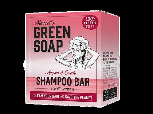 Marcel´s Green Soap - Shampoo bar - Argan & Oudh