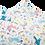 Thumbnail: Blümchen wetbag - Unicorn