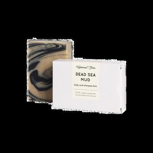 HelemaalShea - Dode Zee modder haar- en bodyzeep