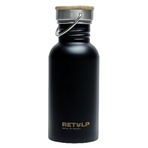 Retulp - Drinkfles - 500 ml - Mat Zwart