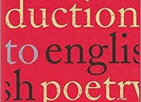 POETRY TOOLKIT: 'An Introduction to English Poetry'
