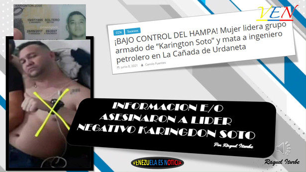ASESINAN A LIDER DE BANDA ZULIANA KARINGDON SOTO EN PERU