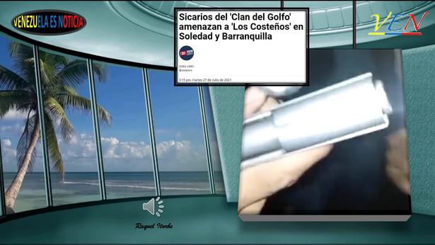 COLOMBIA, CLAN EL GOLFO AMENAZA A LOS COSTEÑO