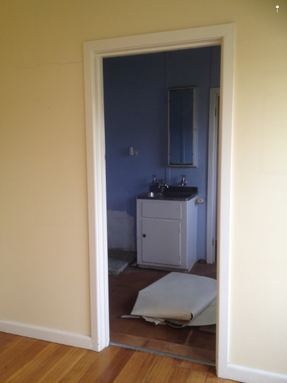 Sunshine laundry renovation before