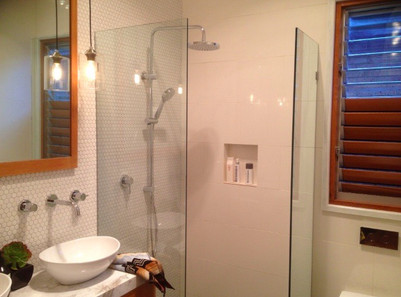 Sunshine bathroom renovation before