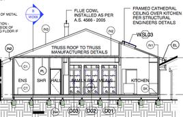 Murdoch house planning stage